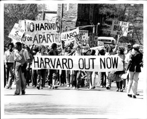 Harvard_divestment_protest_1978