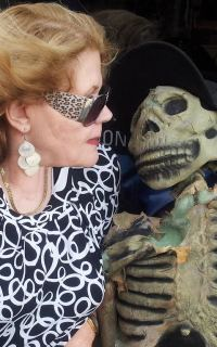 Prudy and skeleton