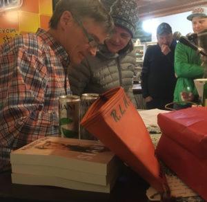 Jack Clinton, book signing 2
